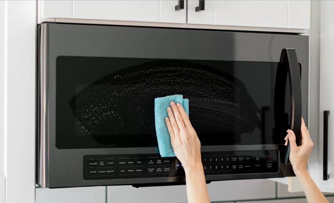 4 روش ساده تمیز کردن مایکروفر